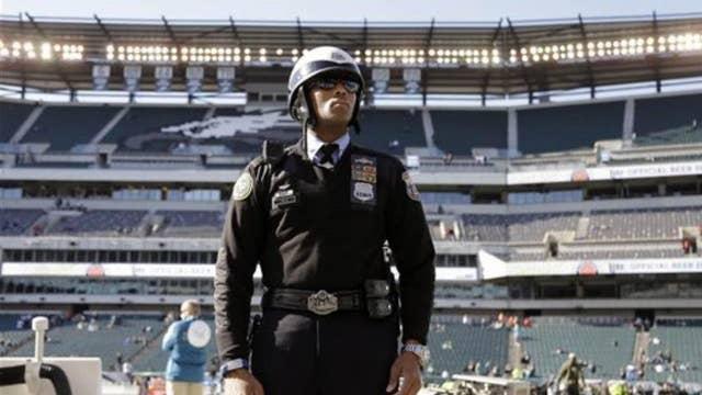 Guns at NFL games?