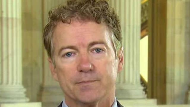 Rand Paul: Let's have a moratorium