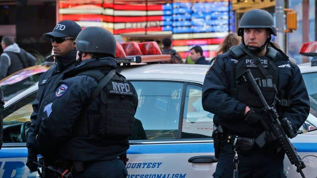 NYPD beefing up security for New Year's celebration