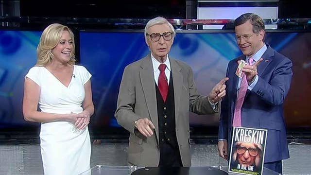Playing cards with the Amazing Kreskin