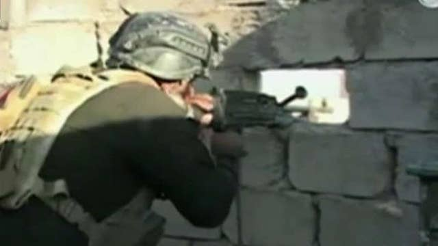 Iraqi forces storm Ramadi