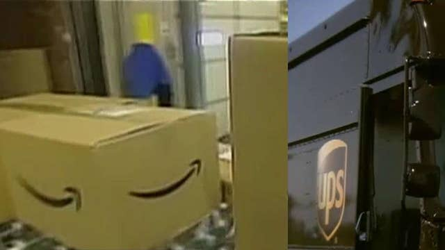 Amazon potentially reducing its relationship with UPS?