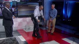 Helping paralyzed veterans to walk again with robotic legs