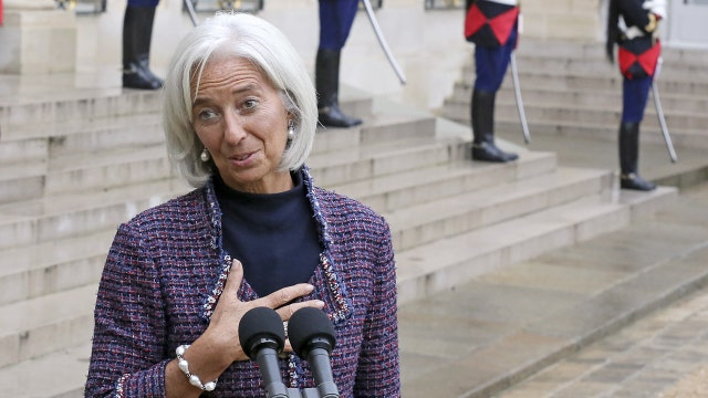 IMF's Lagarde warns of disappointing global growth in 2016