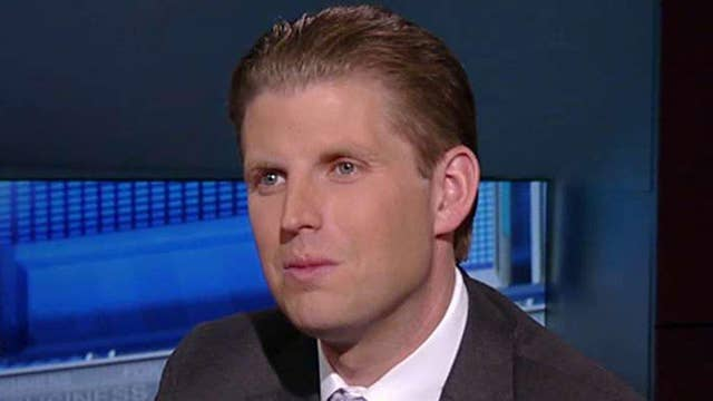 Eric Trump: My dad will go all the way