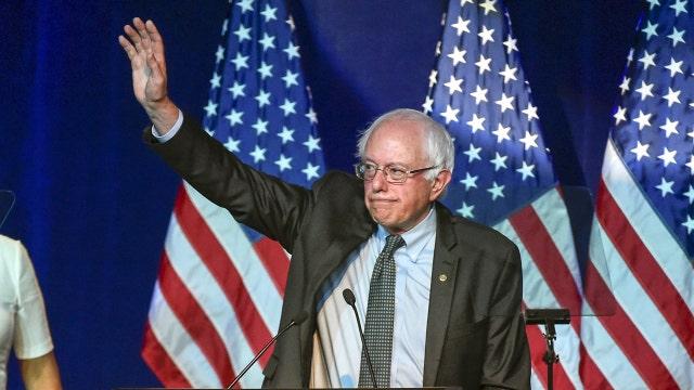Sanders gains on Clinton