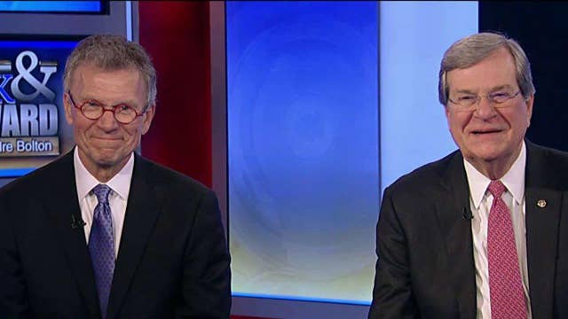 Tom Daschle, Trent Lott on the growing partisan divide in D.C.