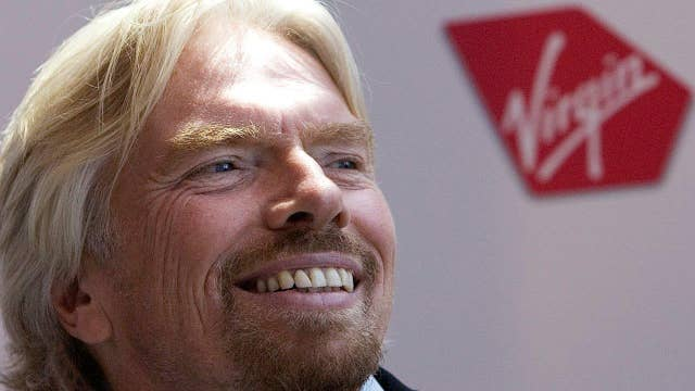 Branson: America, Europe don't rely that much on China