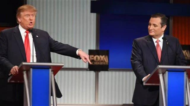 Conservatives divided on Trump and Cruz