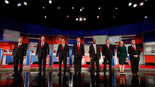 The race for third place in Iowa among GOP candidates