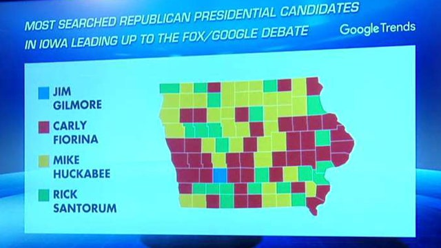 Google Trends data offers insight to the GOP primary race