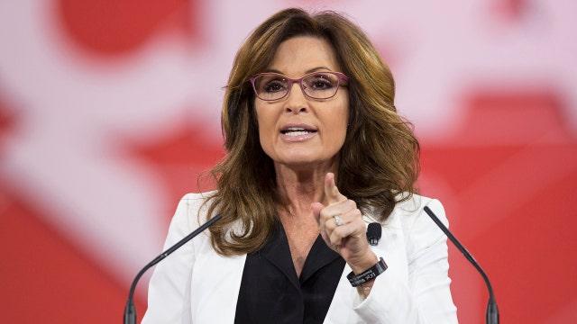 Sarah Palin backs Trump's 2016 presidential bid