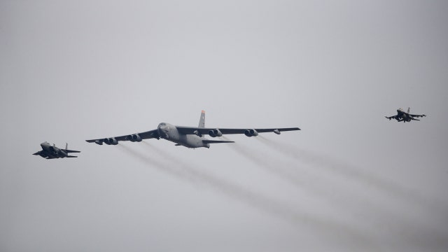 U.S. flies B-52 bomber over South Korea after North's nuclear claims