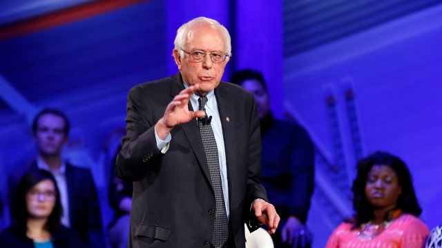 Sanders rising in the polls