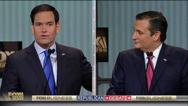 Rubio calls Cruz out