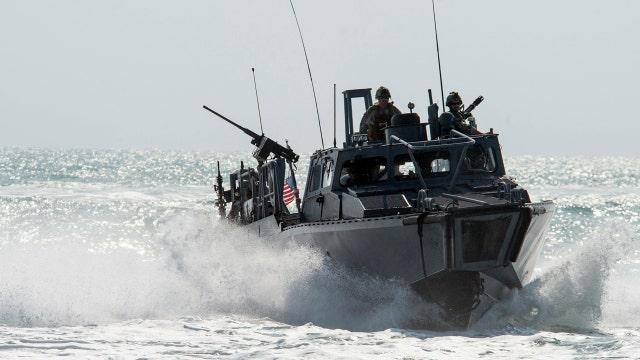 Iran detains 10 U.S. Navy sailors