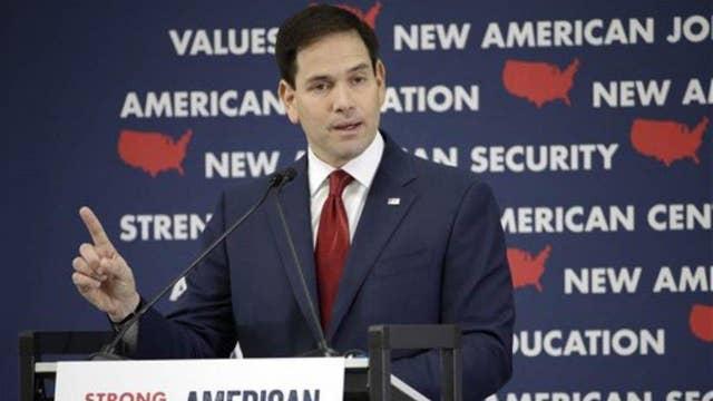 Political donor on SOTU, backing Rubio
