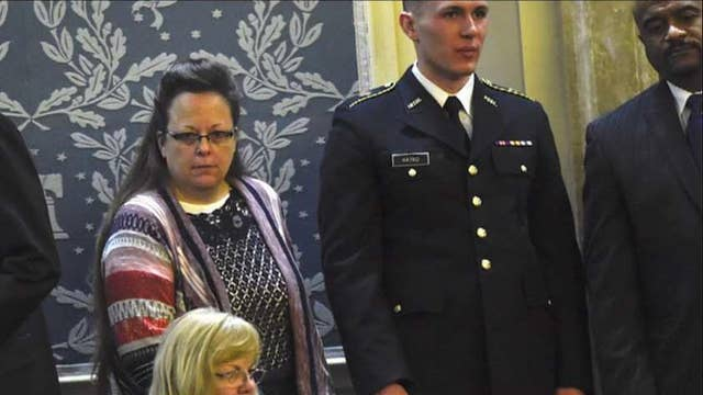 Kim Davis on attending the State of the Union