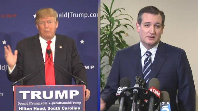 Trump concerned about Cruz?