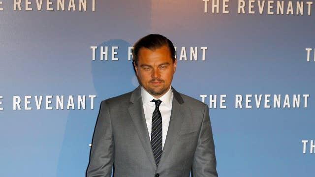 Leonardo DiCaprio's remarks on 'big oil' Hollywood hypocrisy?