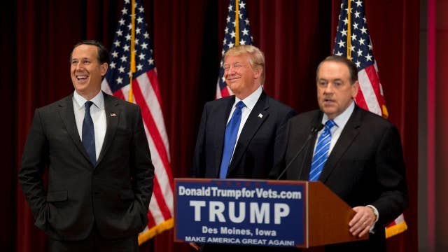 Huckabee: I was grateful Donald Trump asked us to come