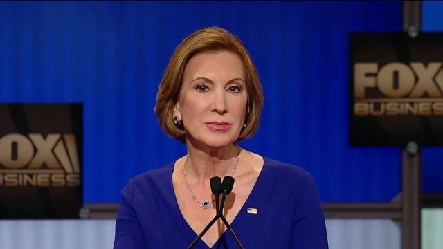 Fiorina: Only the U.S. can lead to defeat ISIS