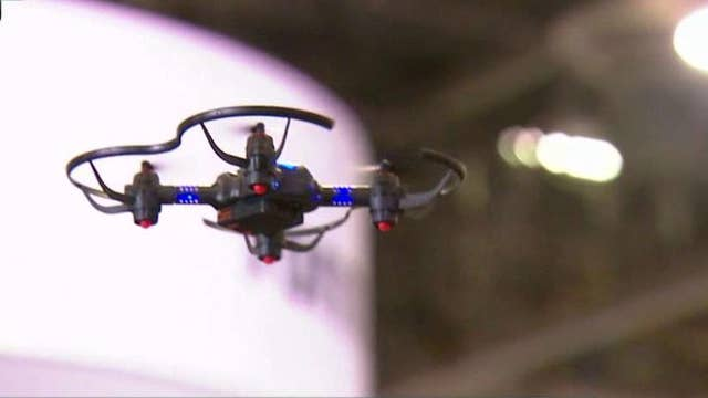 Drones taking off at CES