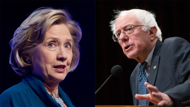 Fox News poll: Clinton drops below 50%, lead over Sanders shrinks