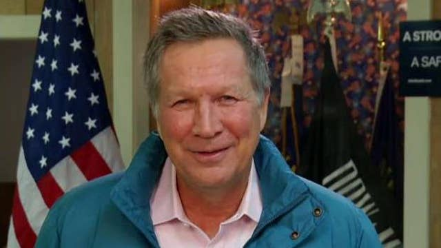Kasich: Sanders will not be the Democratic nominee