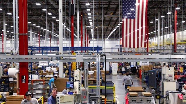 U.S. manufacturing treading water?