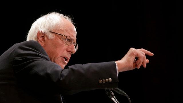Sanders narrows gap on Clinton in national poll