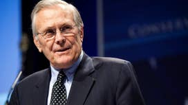 Donald Rumsfeld Channels Churchill with New Solitaire App