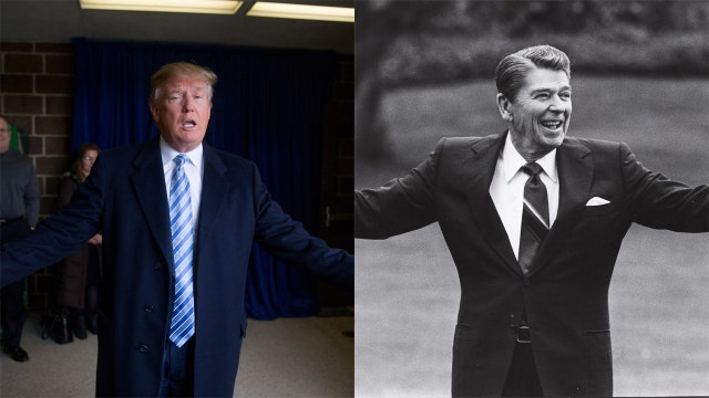 Trump taking a page out of Ronald Reagan's playbook?