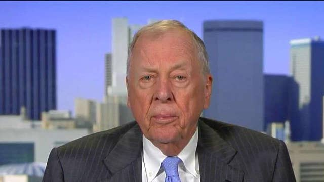 Pickens: Oil could go as low as $20 per barrel