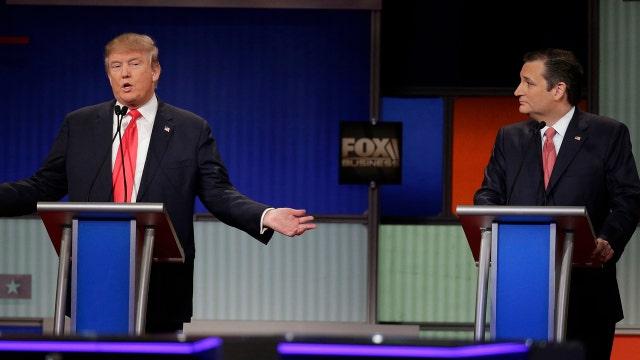 Trump, Cruz debate presidential eligibility, 'New York values'