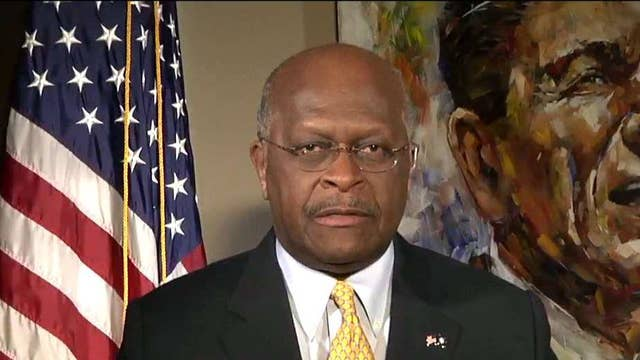 Herman Cain: Obama created the divisiveness between Congress, White House