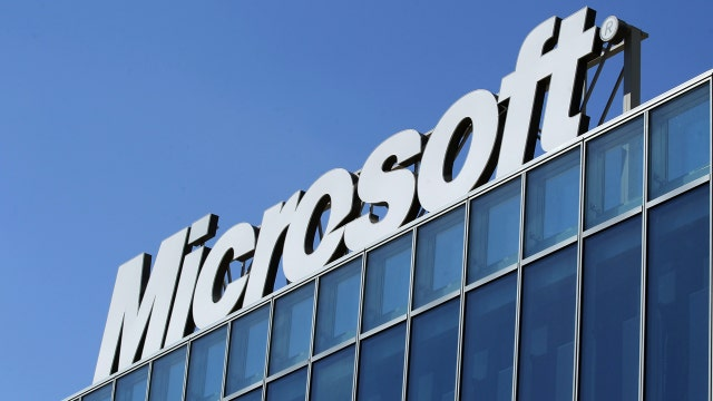 Cloud helping boost Microsoft shares?