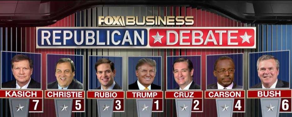 media business republican debate ratings