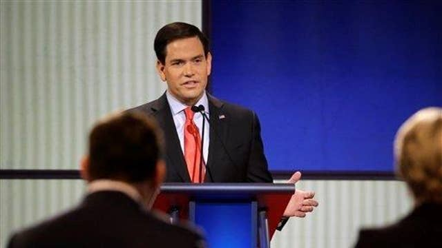 Rubio donor 'delighted' by debate performance