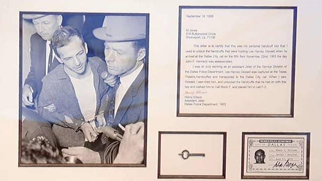 JFK Assassination-related memorabilia up for auction