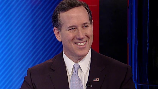 Santorum: There's a reason it's the second amendment, it's important