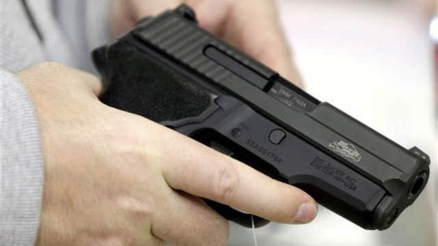 Handgun sales surging thanks to women