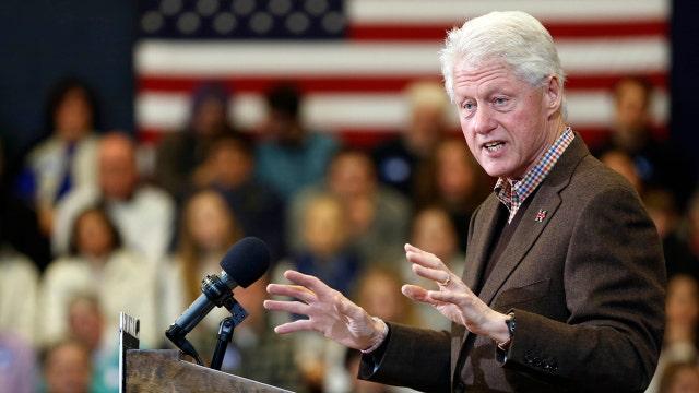 Bill Clinton's past fair game?