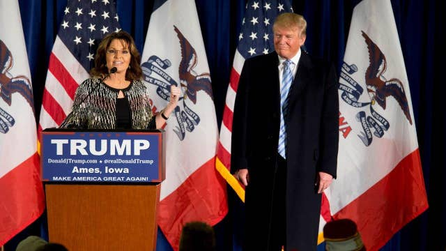Eric Trump: Palin has a huge following, that means a lot