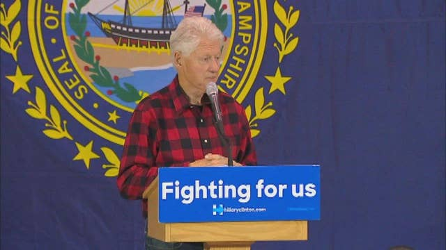Bill Clinton has harsh words for Sanders supporters