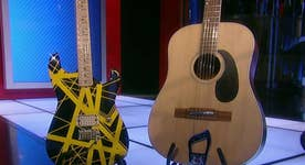 Van Halen's guitar on the auction block
