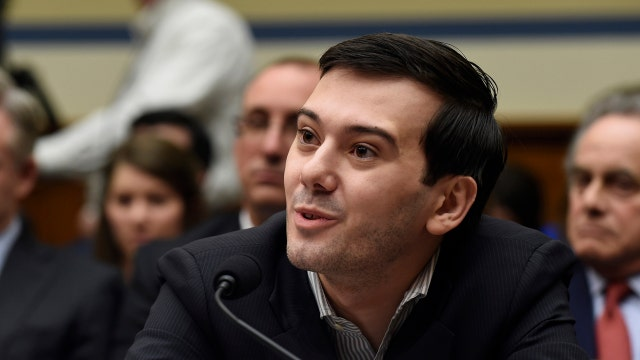 Martin Shkreli refuses to comment at congressional hearing