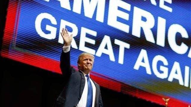 Millionaire businessman endorsing Trump