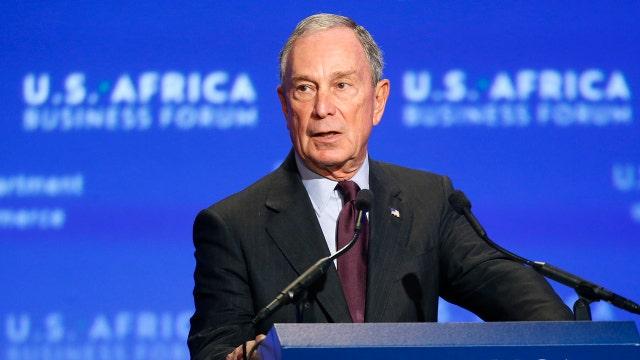 Michael Bloomberg eyeing potential presidential bid in 2016