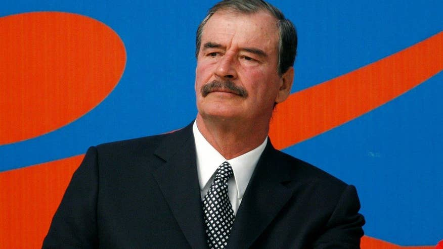 Former Mexican President Vicente Fox on Donald Trump's comments about the Mexican people and the candidate's calls for a wall along the border with Mexico.